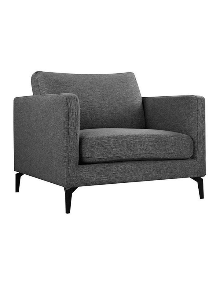 Gizi Single Seater Sofa - Dark Grey image 1