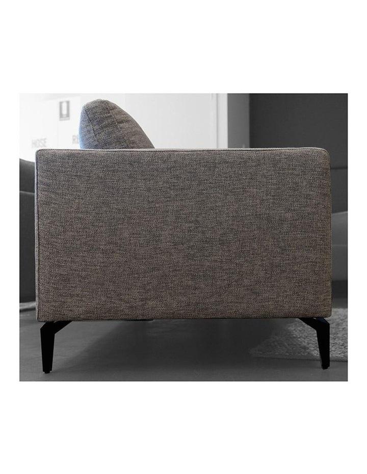 Gizi Single Seater Sofa - Dark Grey image 3