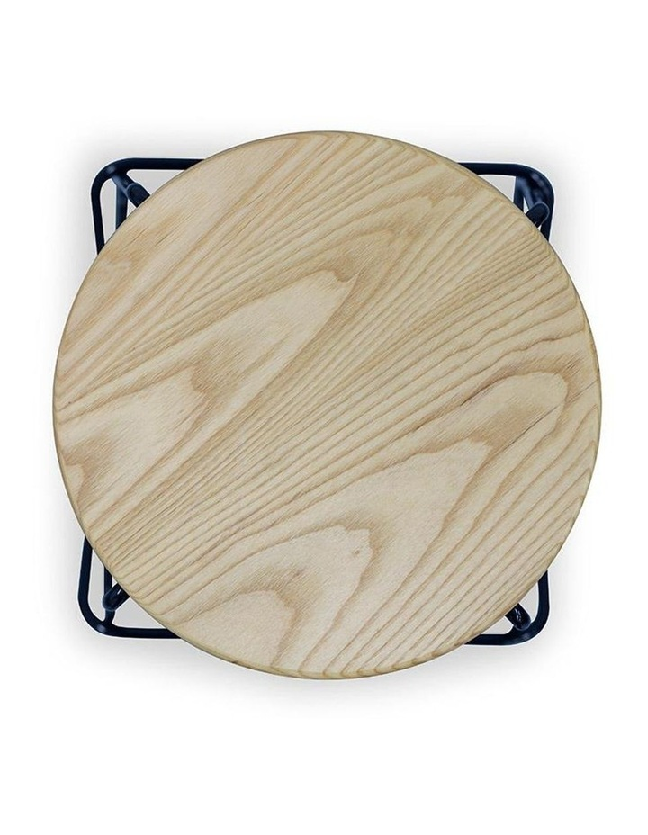 Stark Wooden Topped  Counter Stool image 4