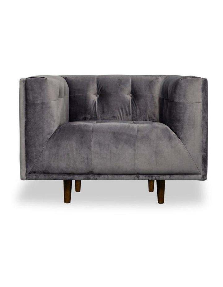 Taron Single Seater Sofa In Grey image 2
