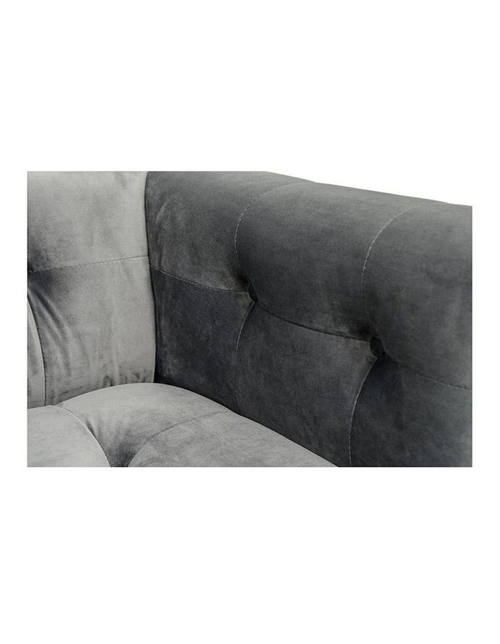 Taron Single Seater Sofa In Grey image 4
