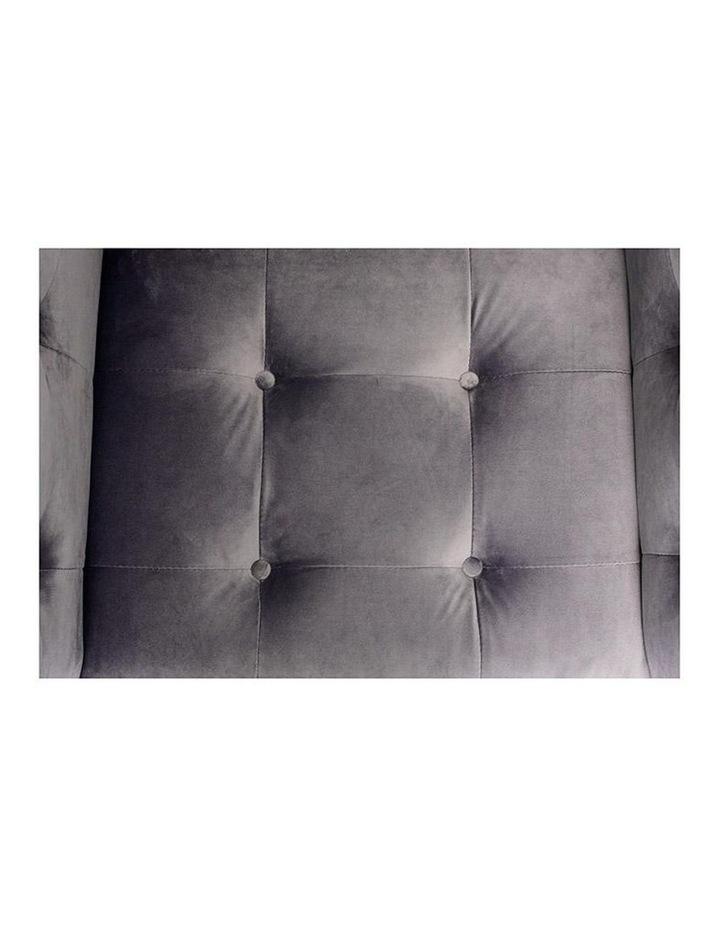 Taron Single Seater Sofa In Grey image 5