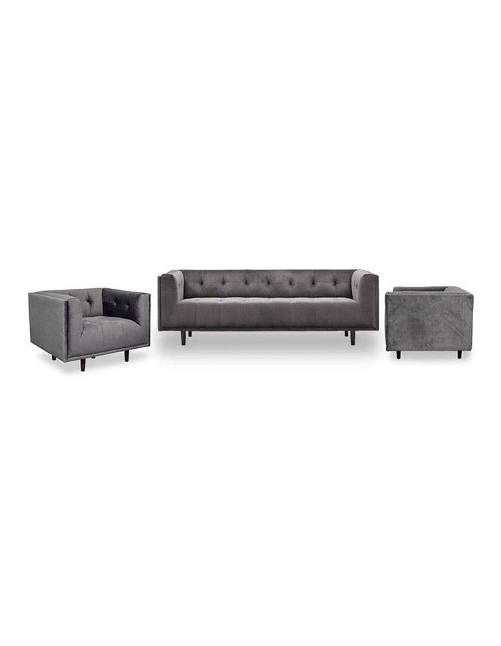 Taron Single Seater Sofa In Grey image 7