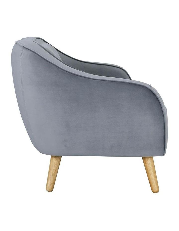 Escort 3 Seater Sofa In Grey image 3