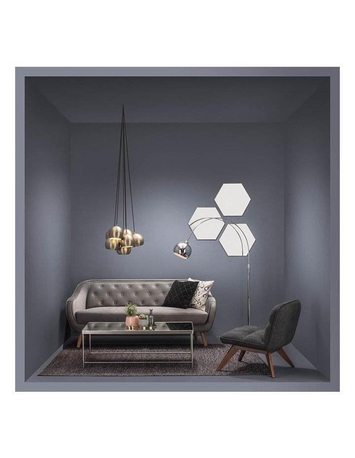 Escort 3 Seater Sofa In Grey image 7