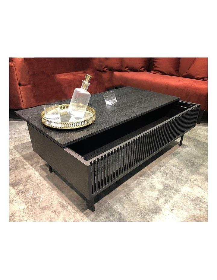 Segan 120cm Coffee Table - Black image 2