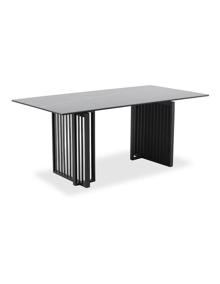 Elora 180cm Dining Table - Black image 1
