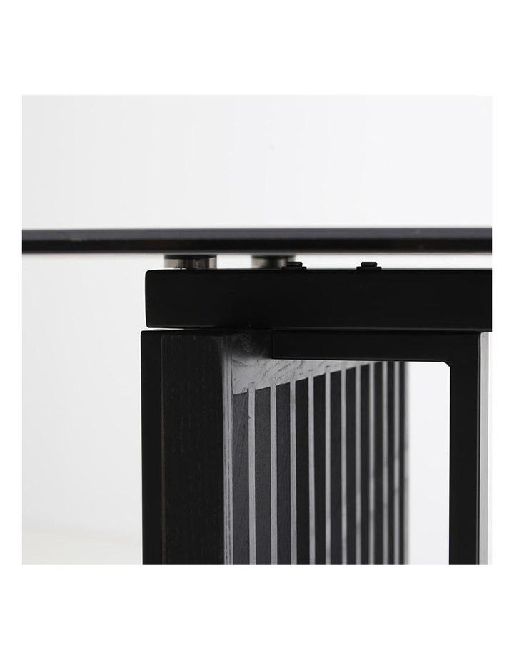 Elora 180cm Dining Table - Black image 2