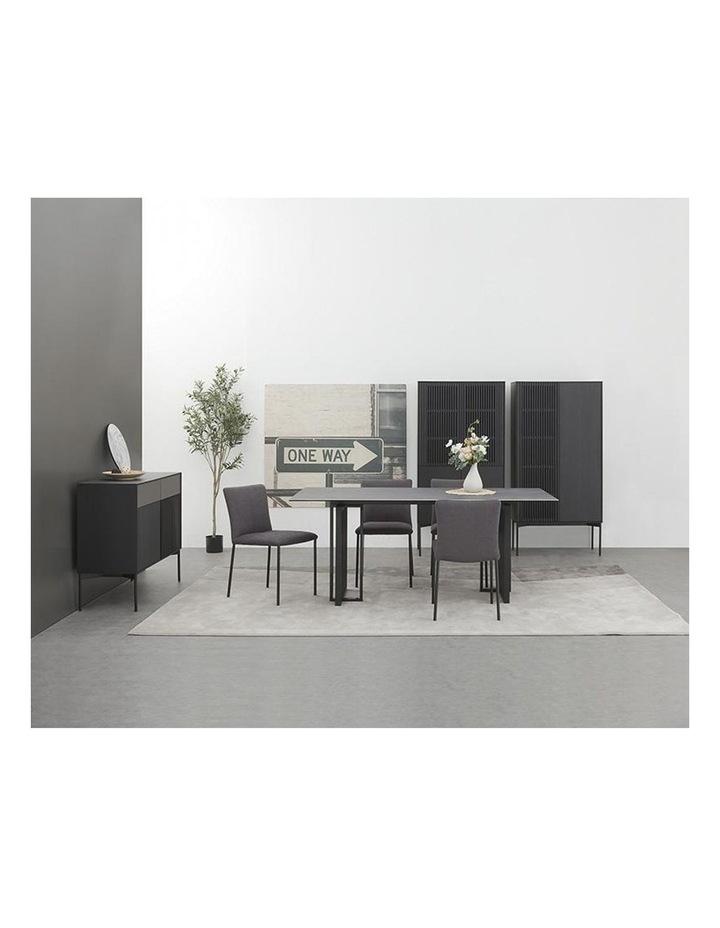 Elora 180cm Dining Table - Black image 4