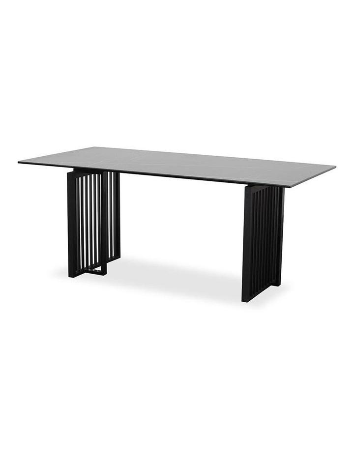 Elora 180cm Dining Table - Black image 5