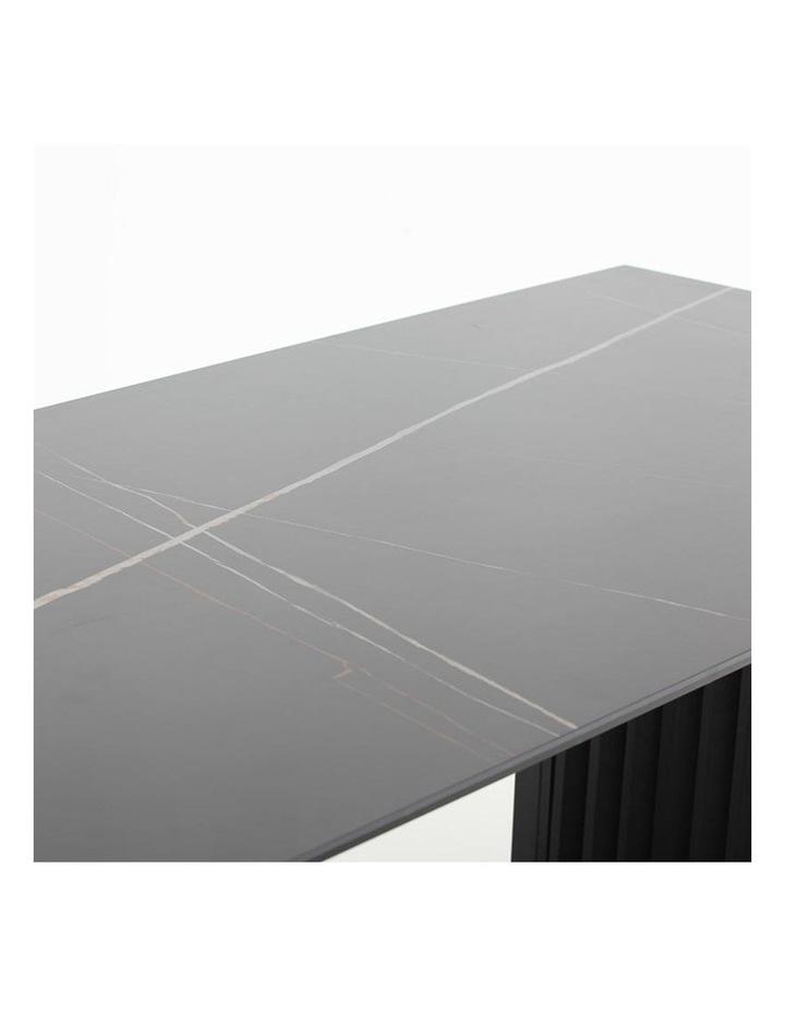 Elora 180cm Dining Table - Black image 6