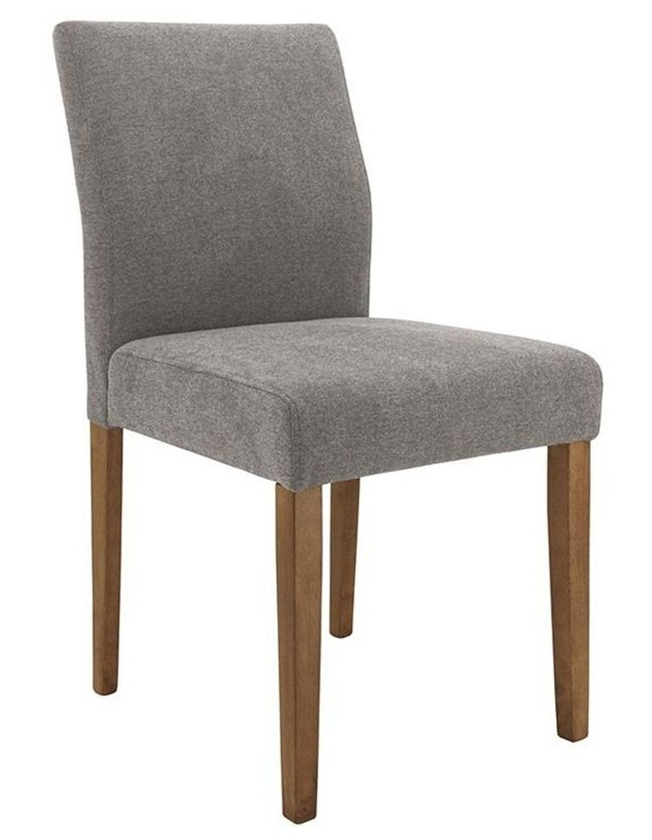 Ladee Dining Chair Cocoa and Dark Grey image 1