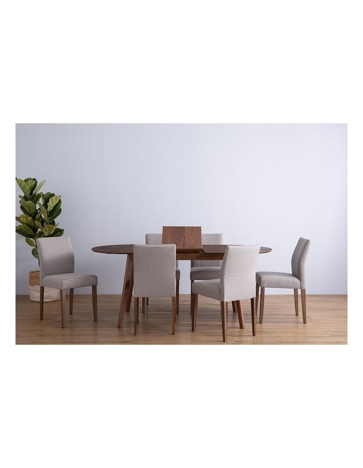 Ladee Dining Chair Cocoa and Dark Grey image 2