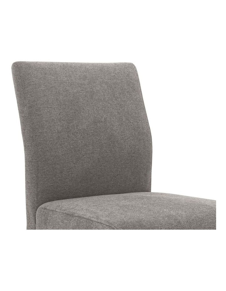 Ladee Dining Chair Cocoa and Dark Grey image 3