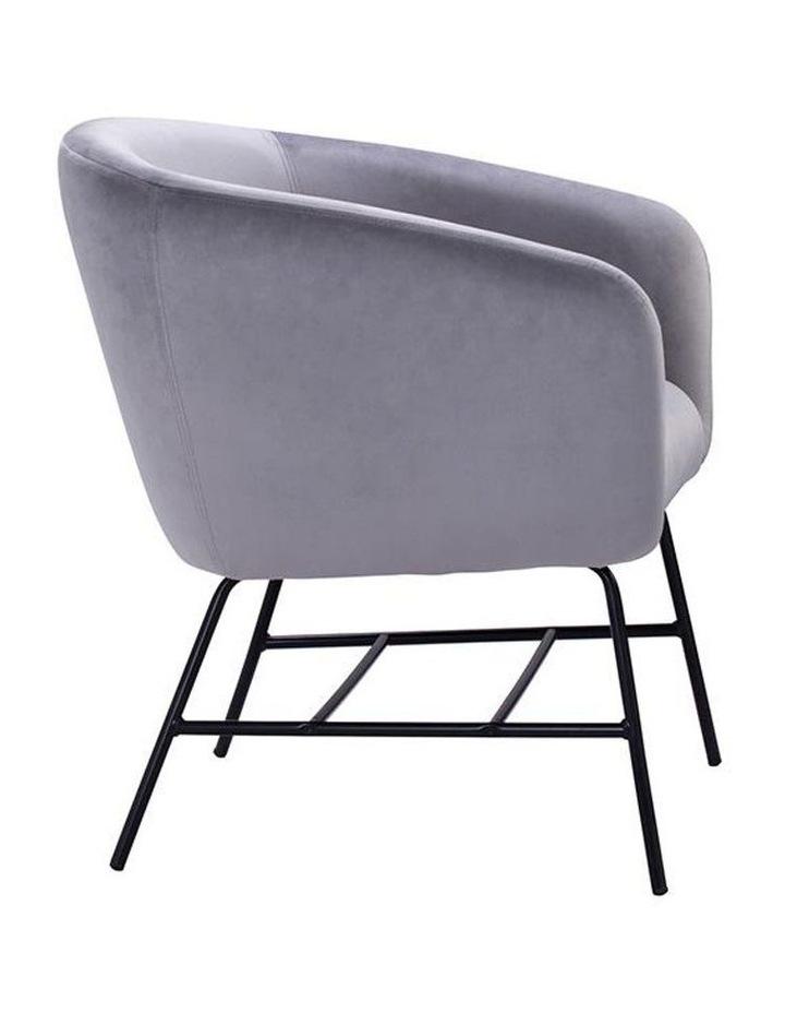 Galen Lounge Chair - Ash Grey image 3
