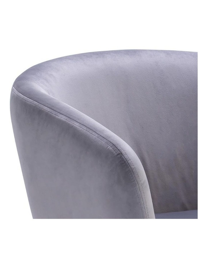 Galen Lounge Chair - Ash Grey image 4