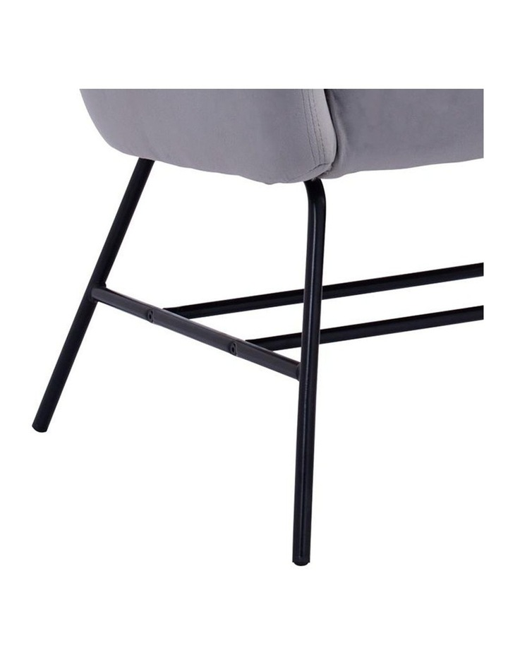 Galen Lounge Chair - Ash Grey image 5