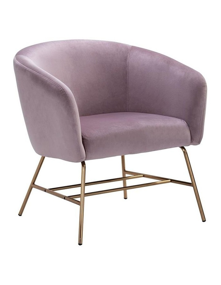 Galen Lounge Chair - Rosa image 1