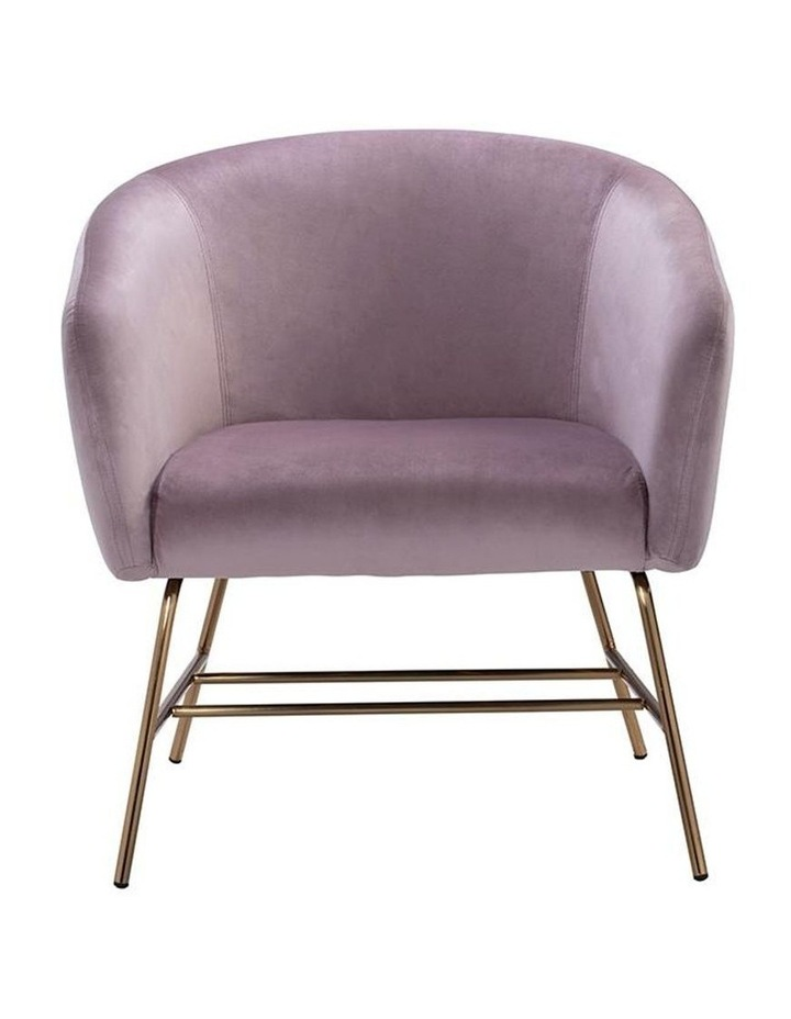 Galen Lounge Chair - Rosa image 2
