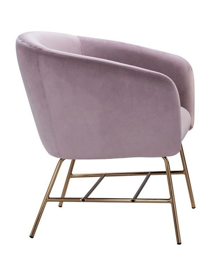 Galen Lounge Chair - Rosa image 3