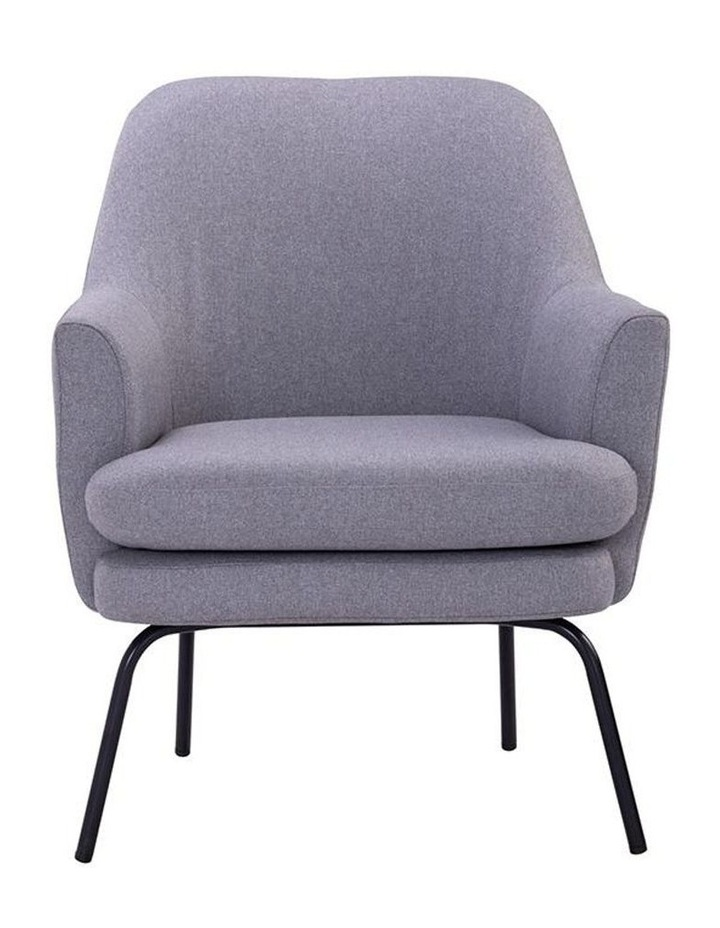 Lucian Lounge Chair - Pewter Grey image 2