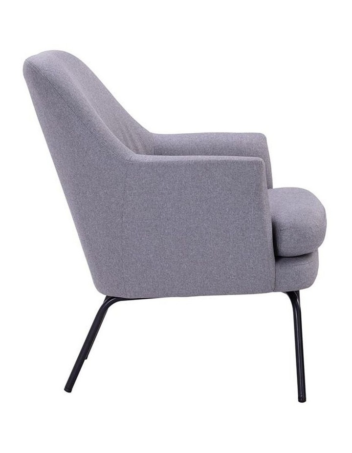 Lucian Lounge Chair - Pewter Grey image 3