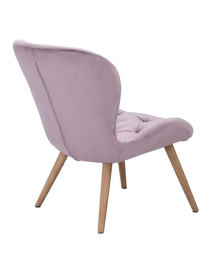 Salomi Lounge Chair - Rosa image 4