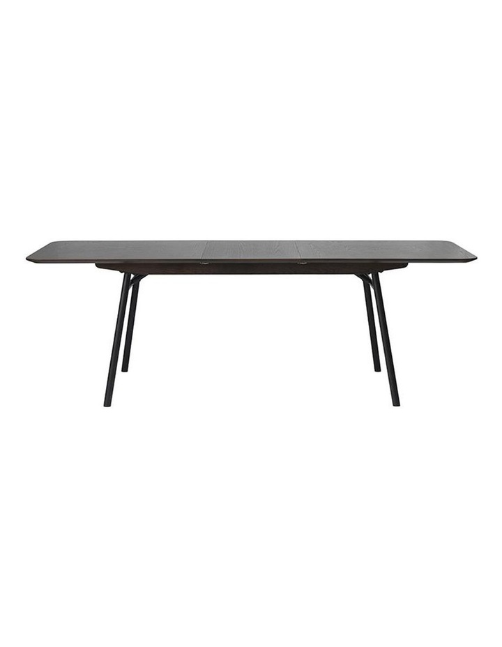 Latina Extendable Dining Table 1.8/2.3M -  Dark Brown image 3