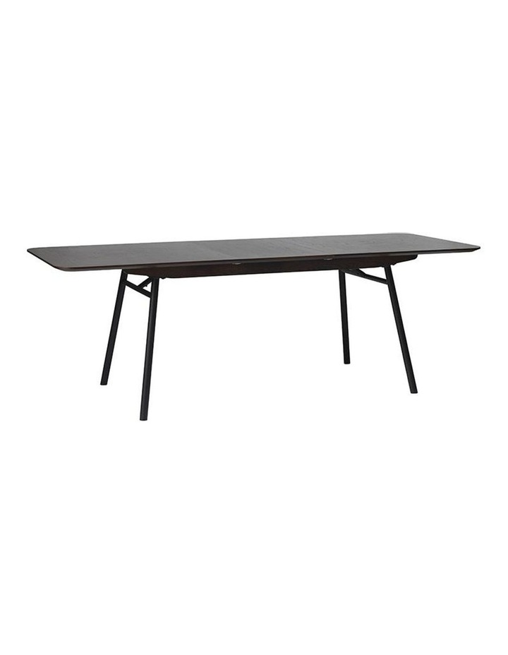 Latina Extendable Dining Table 1.8/2.3M -  Dark Brown image 4