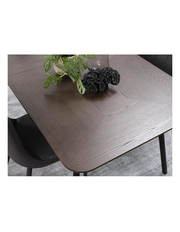 Latina Extendable Dining Table 1.8/2.3M -  Dark Brown image 5