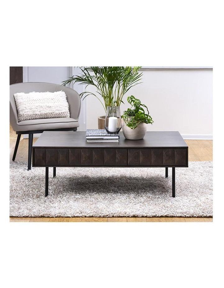 Latina Coffee Table 117cm - Dark Brown image 6