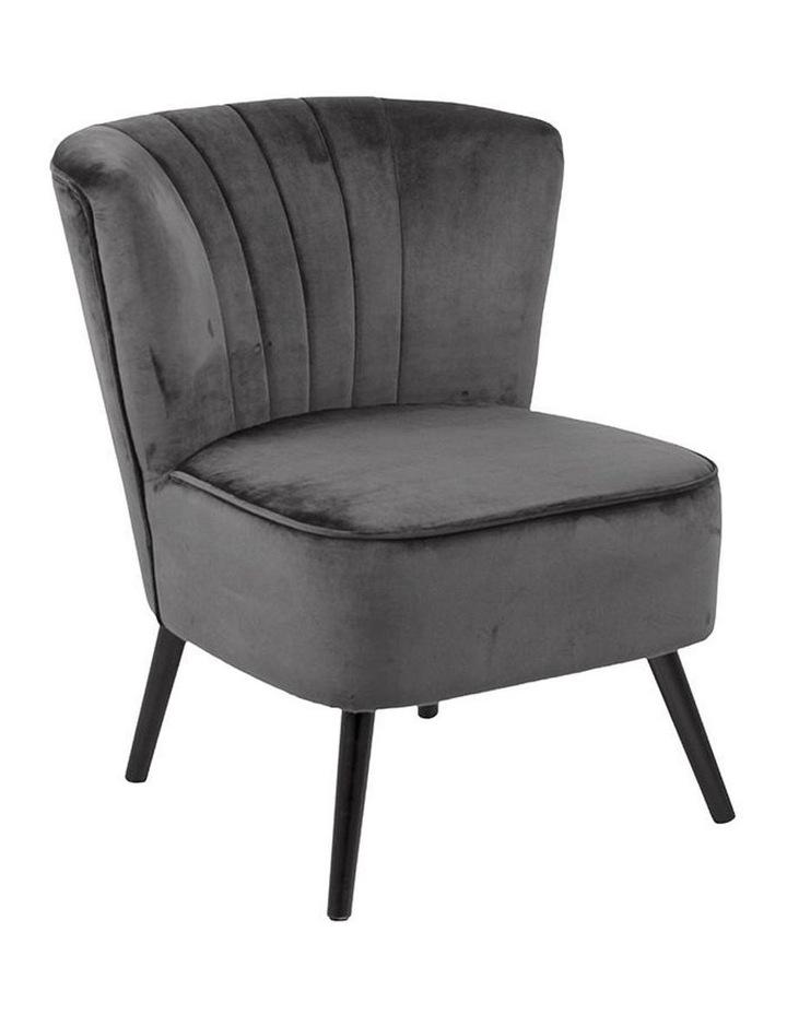 Leila Lounge Chair - Dark Grey image 1