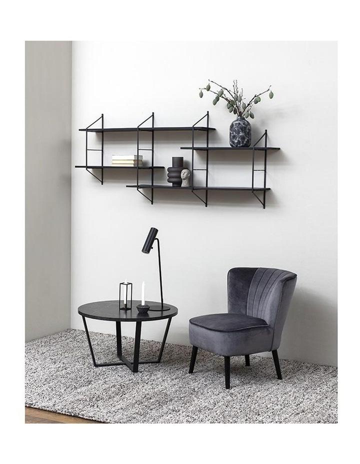 Leila Lounge Chair - Dark Grey image 2