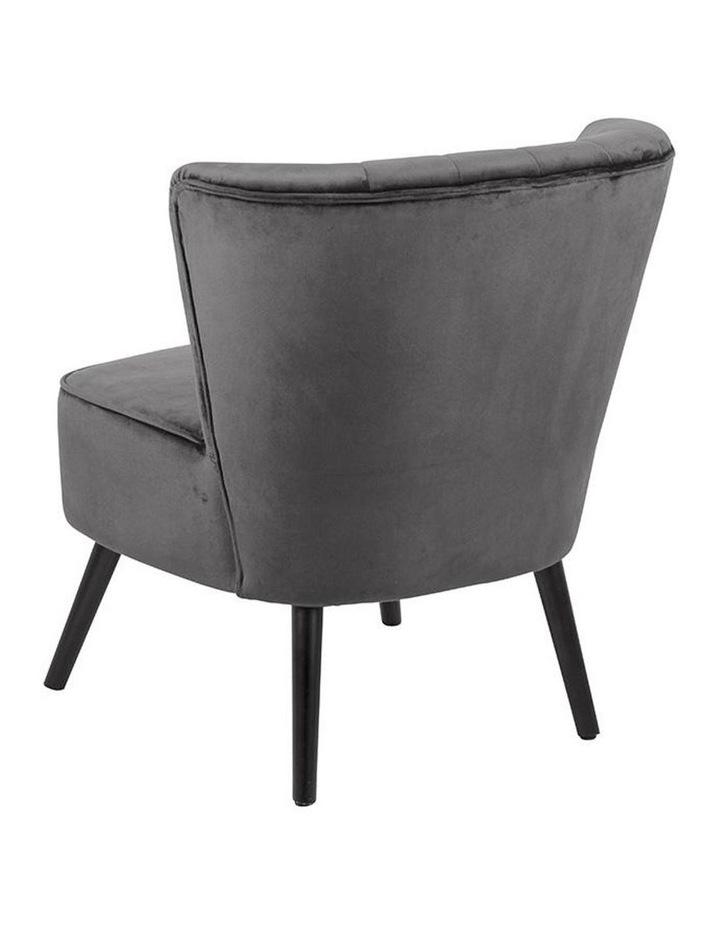 Leila Lounge Chair - Dark Grey image 3