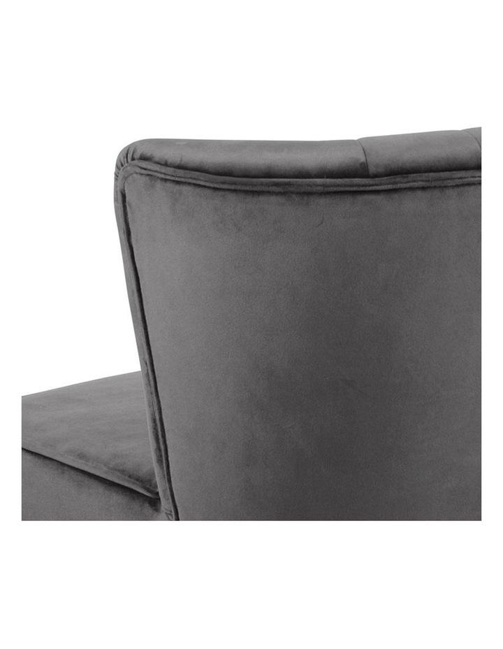Leila Lounge Chair - Dark Grey image 4