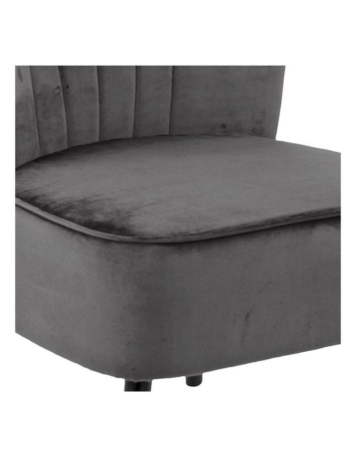 Leila Lounge Chair - Dark Grey image 5