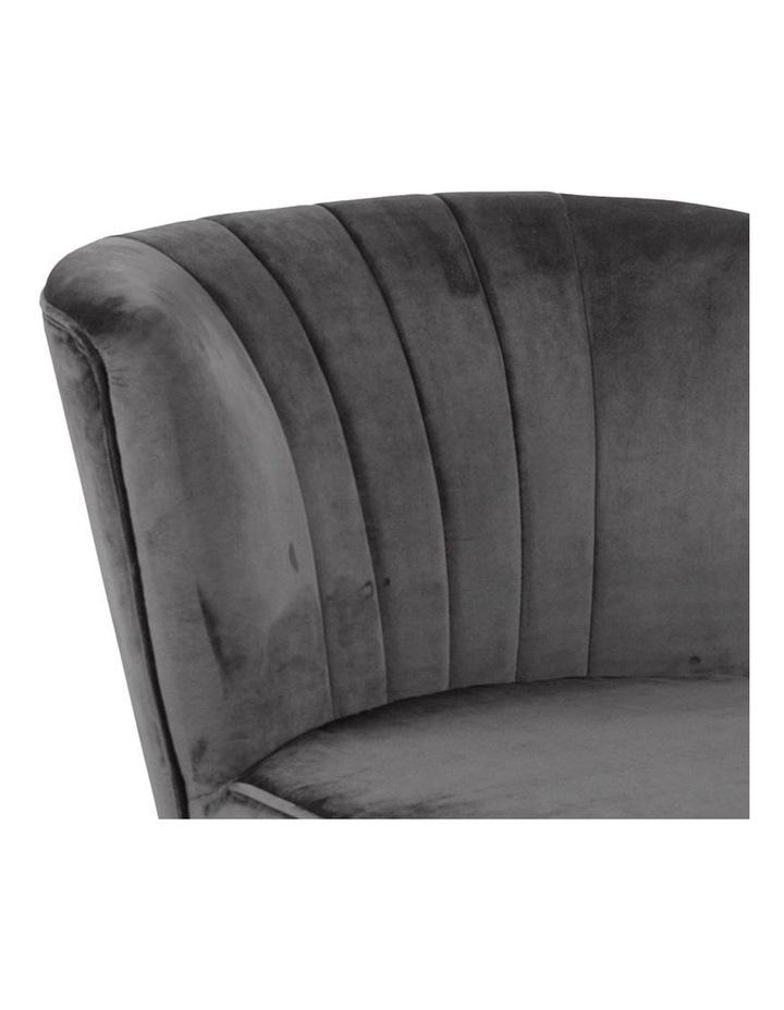 Leila Lounge Chair - Dark Grey image 6