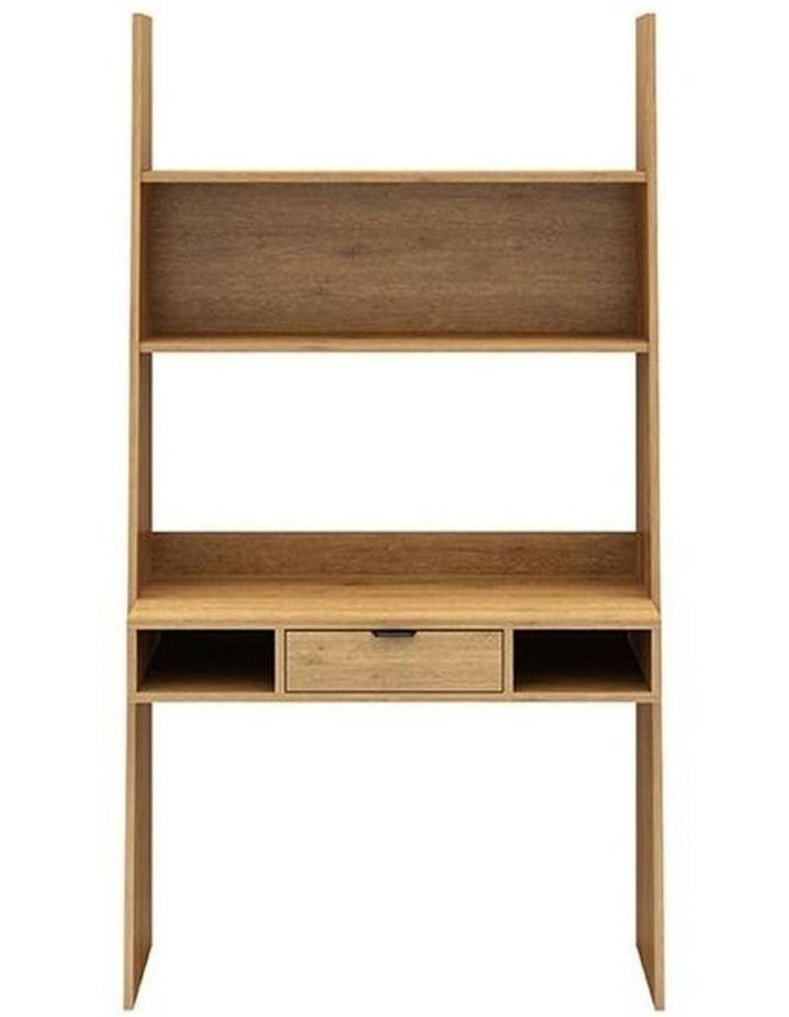 Berlai Study Desk Bookshelf Unit 100cm Natural image 1