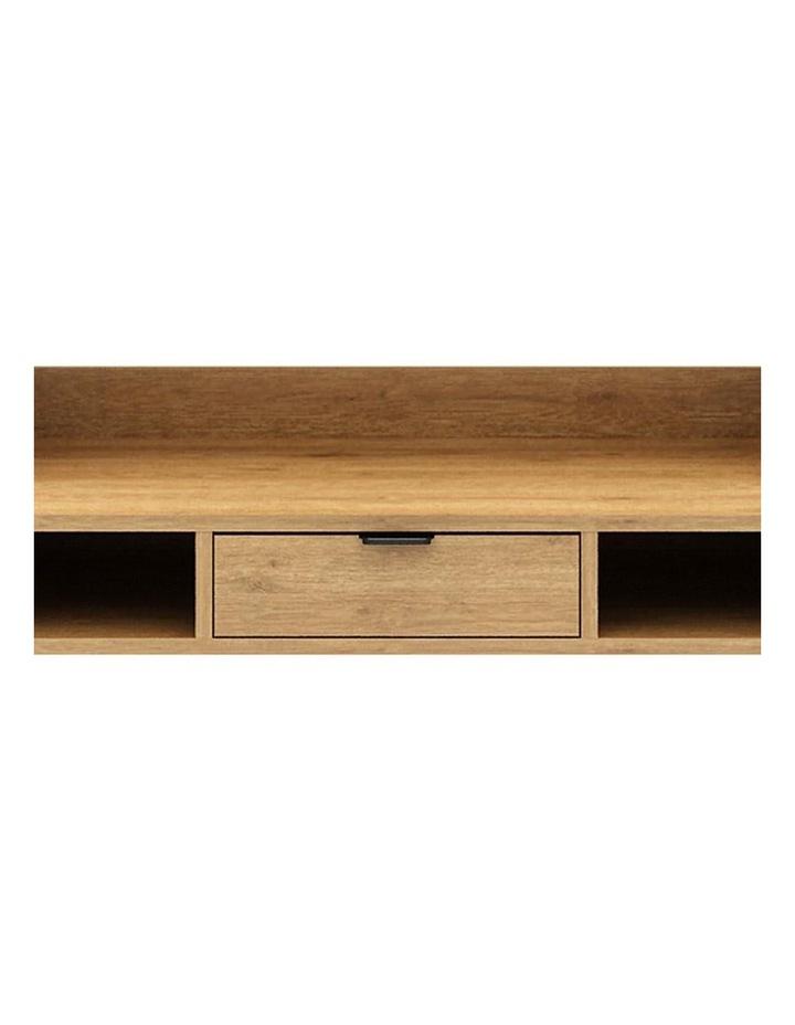 Berlai Study Desk Bookshelf Unit 100cm Natural image 3