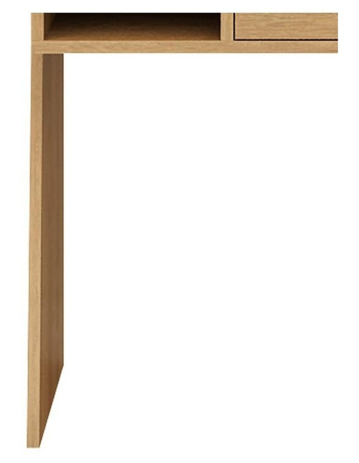 Berlai Study Desk Bookshelf Unit 100cm Natural image 5