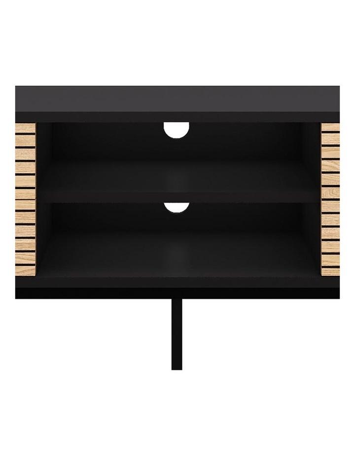 Odence Entertainment TV Unit - 150cm - Natural & Black image 3