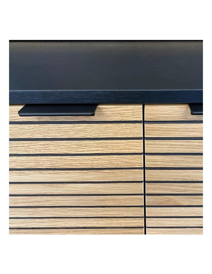 Odence Entertainment TV Unit - 150cm - Natural & Black image 6