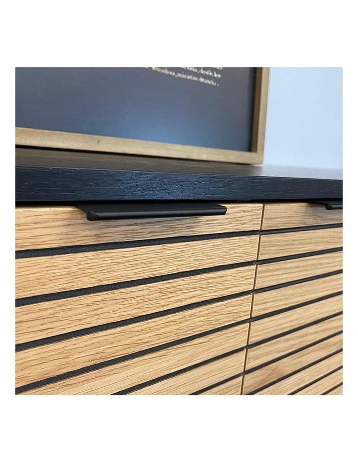Odence Entertainment TV Unit - 150cm - Natural & Black image 7