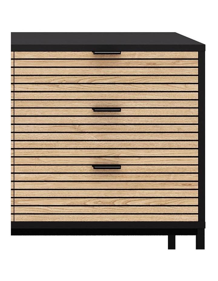 Odence Sideboard 160cm - Natural & Black image 2