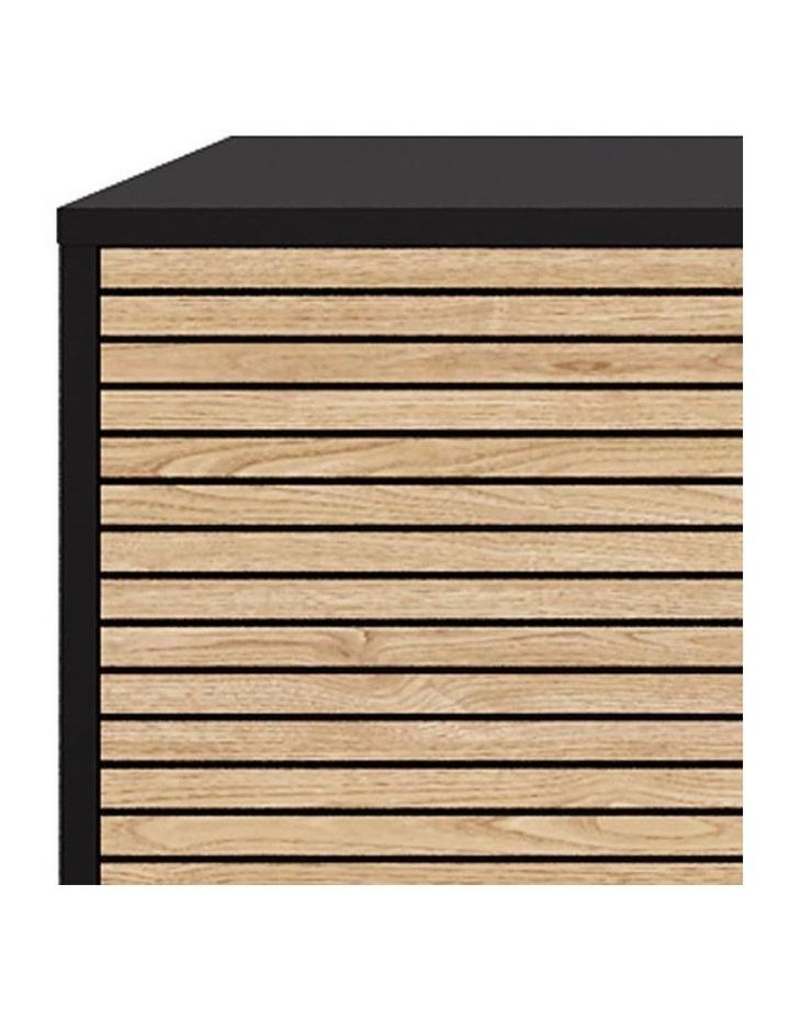 Odence Sideboard 160cm - Natural & Black image 3