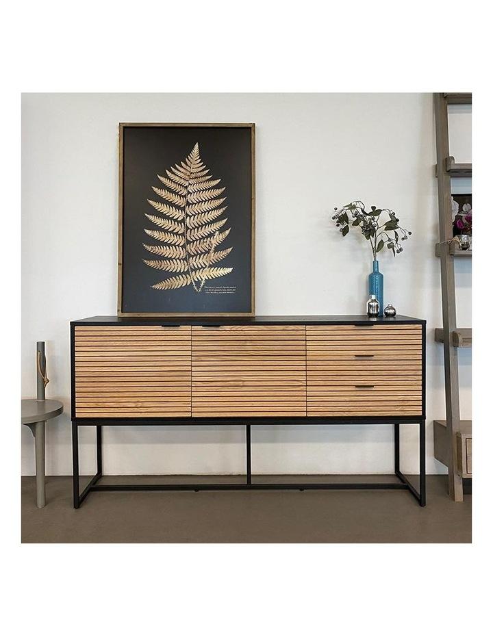 Odence Sideboard 160cm - Natural & Black image 5