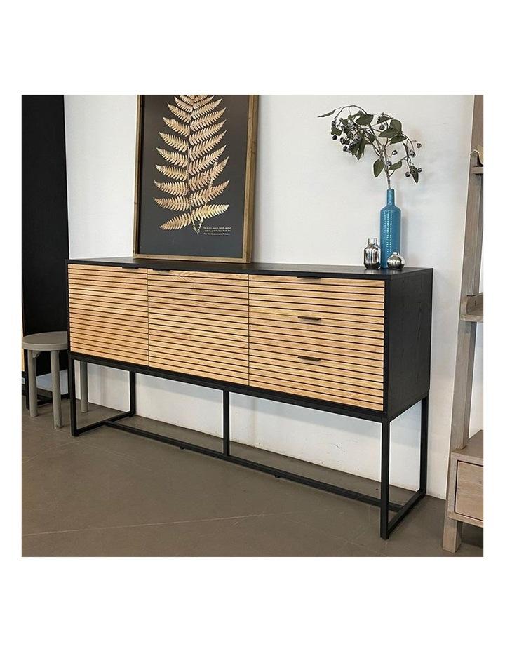 Odence Sideboard 160cm - Natural & Black image 6