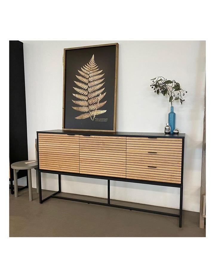 Odence Sideboard 160cm - Natural & Black image 7