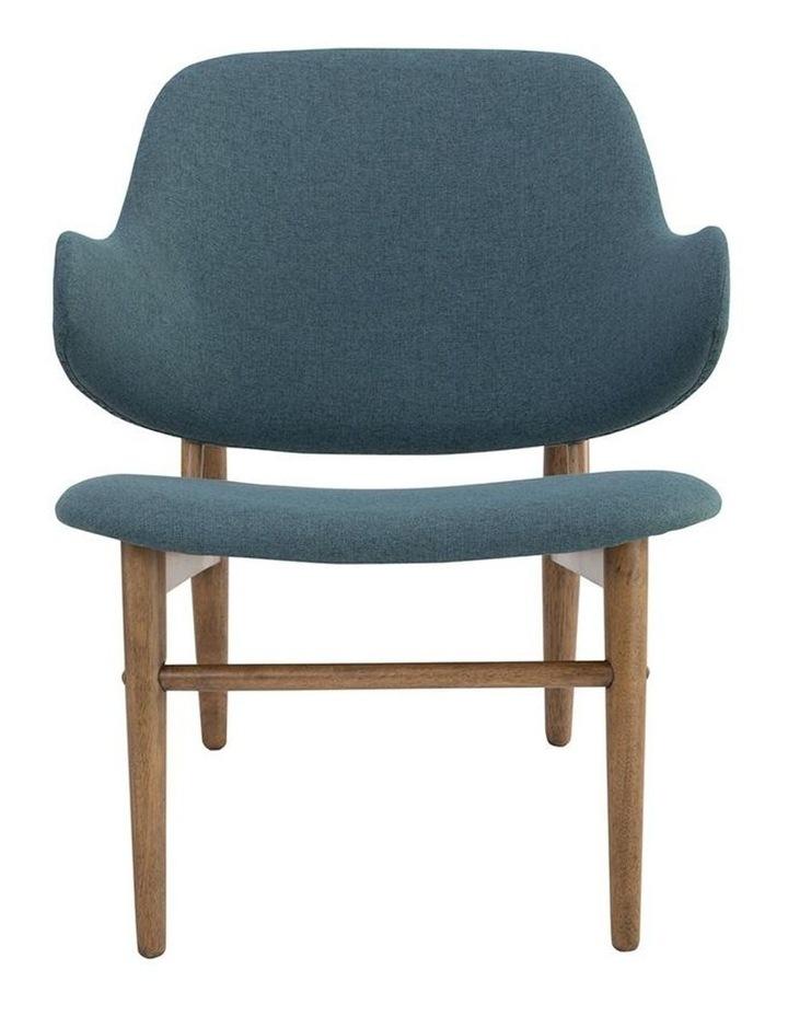 Veronic Lounge Chair - Cocoa & Nile Green image 3