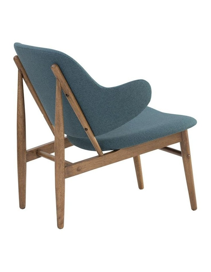 Veronic Lounge Chair - Cocoa & Nile Green image 5